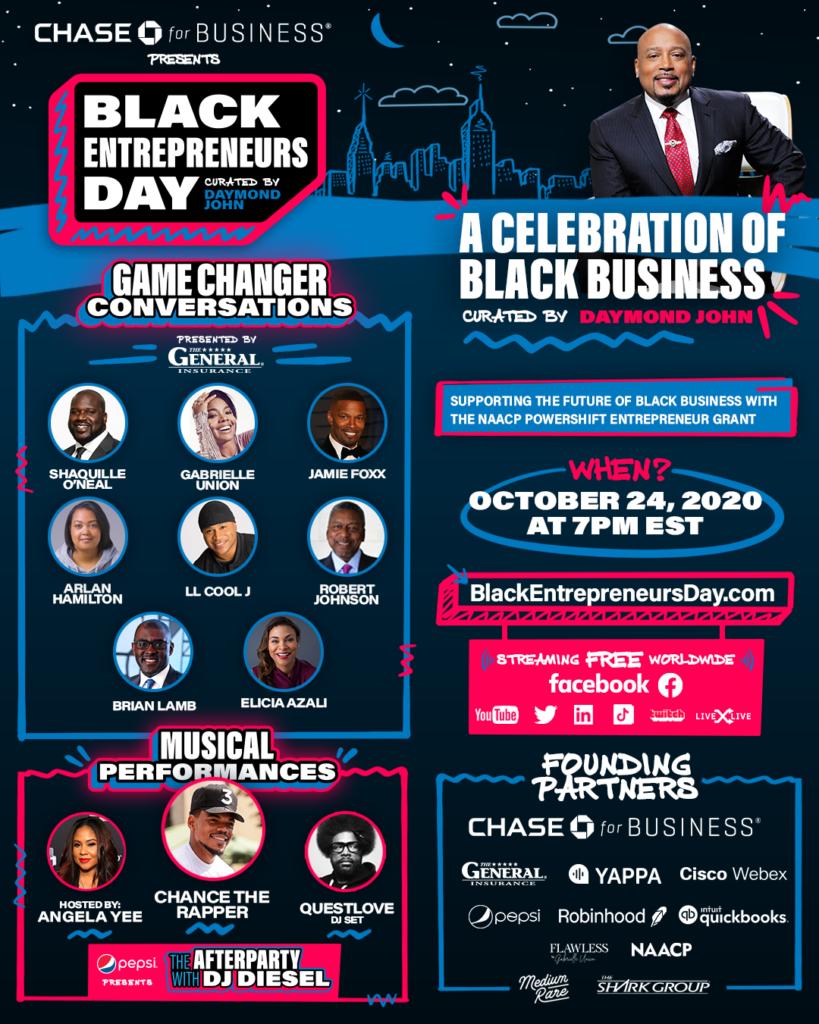 The General Insurance - Black Entrepreneurs Day Flyer 2020