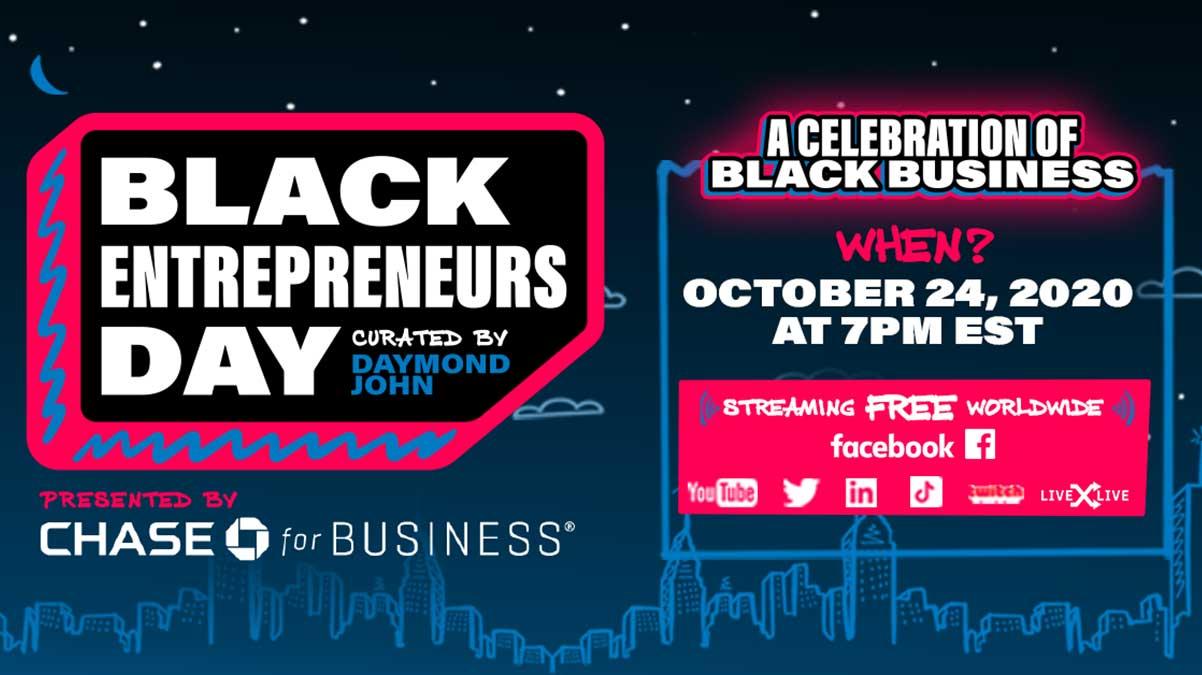 Black Entrepreneurs Day 2020 - The General participates in Black Entrepreneurs Day