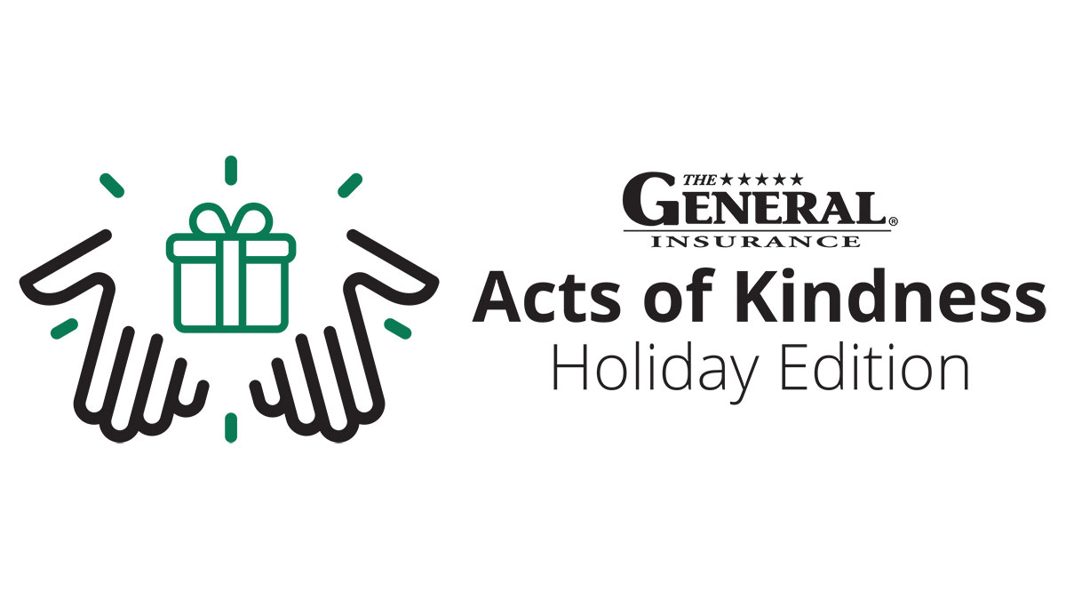 The General Insurance Acts of Kindness Holiday Edition Logo