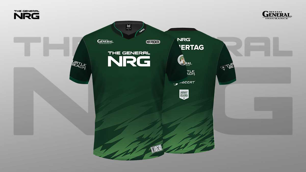 The General NRG Jersey - Photo of Fan Vote Winning Design